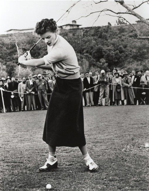 Howard Hughes and Katharine Hepburn | Katharine Hepburn Golfs | The Katharine Hepburn Cultural Arts Center ...