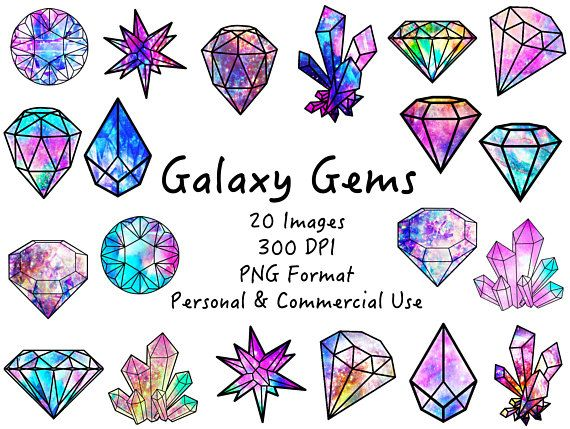 Diamond galaxy. Second row nd crt