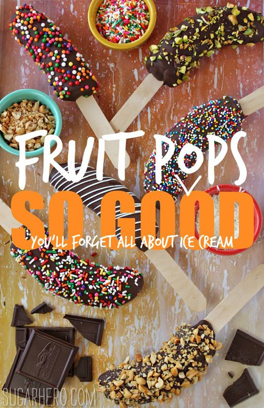 Fruit Pops So Good, You'll Forget All About Ice Cream
