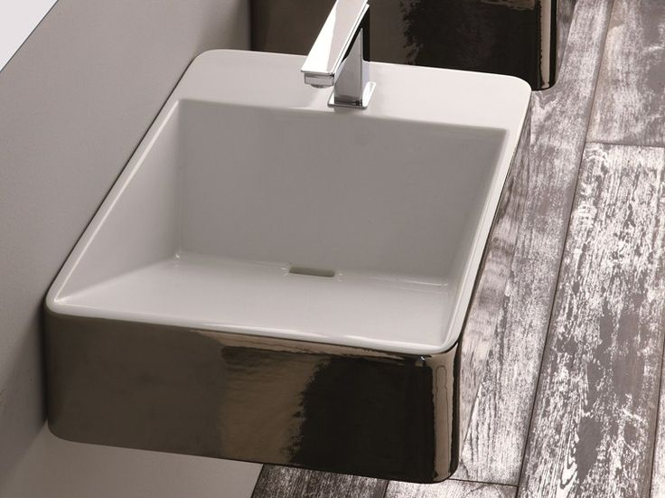Lavabo Rectangulaire Suspendu Collection Crystal By Olympia Ceramica |  Design Francesco Lucchese