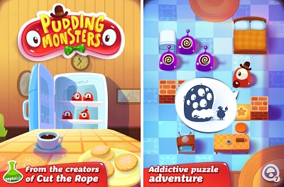 Pudding Monsters - Puzzle Game For iOS & Android