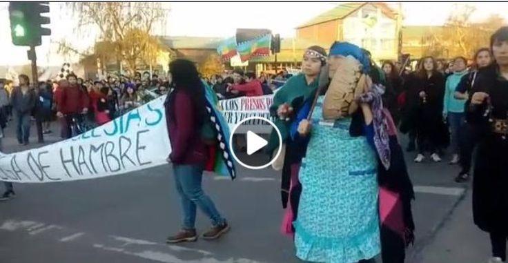 Protestas en Chile por asedio estatal contra Pueblo Mapuche   Mapuexpress