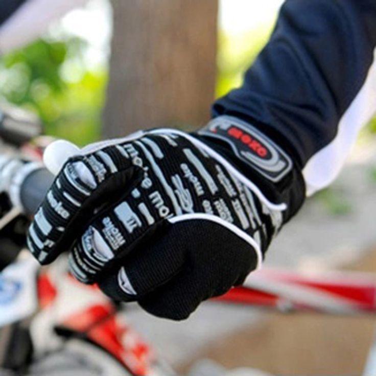 新しい冬関節フルフィンガーグローブ自転車サイクリング手袋道路自転車シリコーンノンスリップ通気性mtbバイク手袋B0886ST