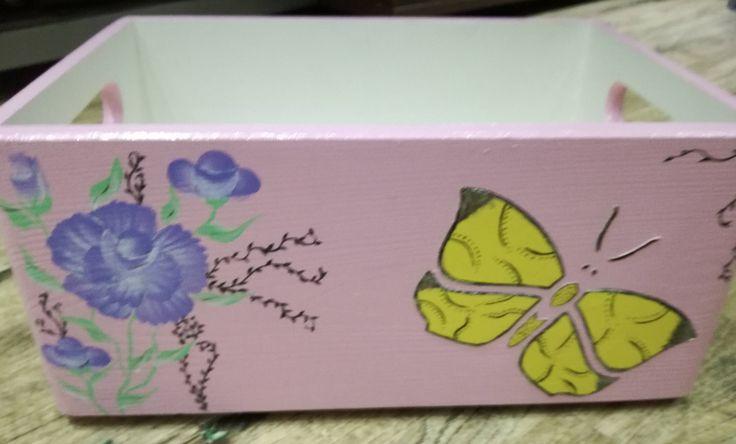 Storage box/Toy box by DedeHandmadeJewels on Etsy