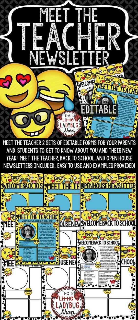 The  Best Teacher Newsletter Ideas On   Parent