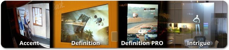 Rear Projection Film, Projection on Glass, Projection Film | RearProjectionFilms.com