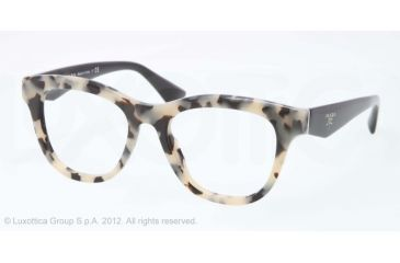 prada eyeglass frames for women blue plastic prada pr04qv eyeglass frames kad1o1 49 white havana frame eyeglass frames pinterest for women