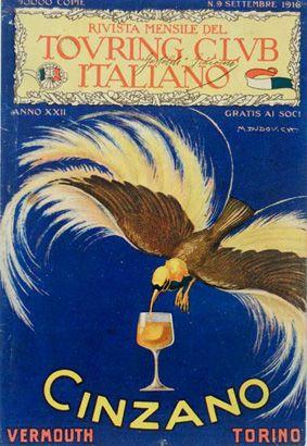 Italy. Cinzano 1916
