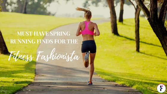 """With Spring on it's way, I sorted thorough fitness wardrobe and more recent purchases to share with you my personal '""""Must Have Spring Running Finds for the Fitness Fashionista."""