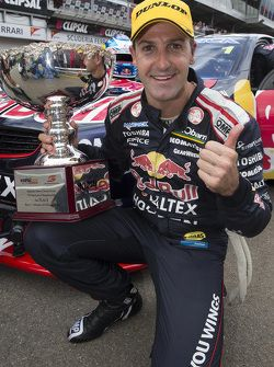 Race 1 winner Jamie Whincup, Red Bull Holden
