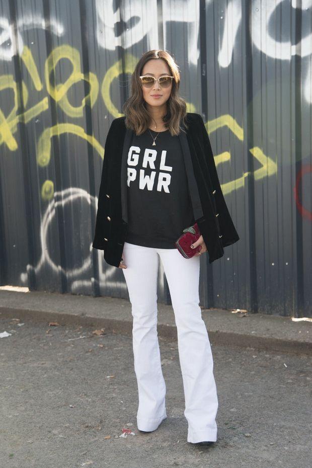 Πώς να βρεις το τέλειο λευκό τζιν για το σώμα σου - Μόδα | Ladylike.gr