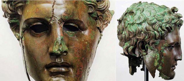 Πυρφόρος Έλλην: Μουσείο Πράντο: Αποκαταστάθηκε χάλκινο κεφάλι του ...