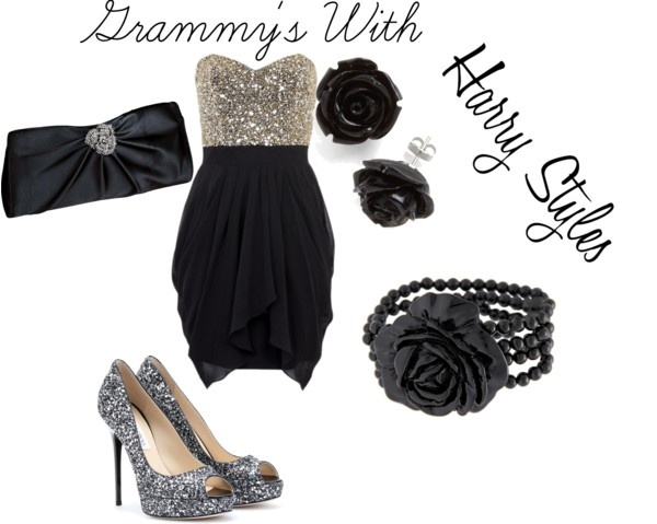 """Grammy's With Harry Styles"" by rylenlemons on Polyvore"