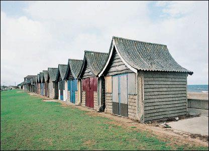 Beach huts, Mablethorpe, Lincolnshire © English Heritage