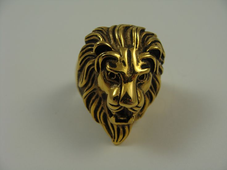 Stainless steel lion ring www.livioformen.com