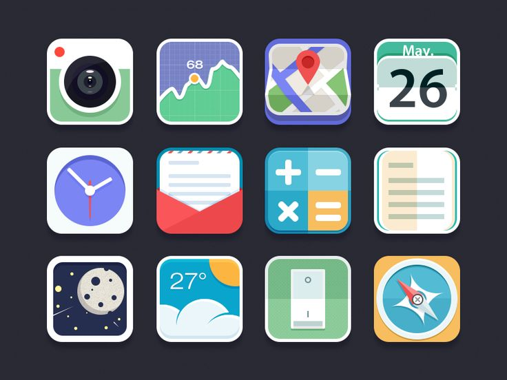 Flat Icon by Chiou