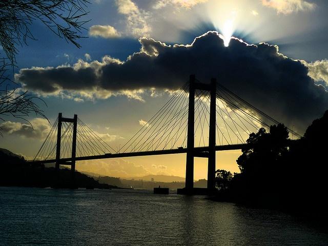Puente de Rande en la Ría de Vigo