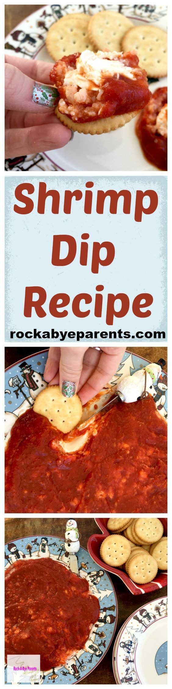 The Ultimate Pinterest Party, Week 131 Shrimp Dip Recipe: This easy dip appetizer recipe will take you no time at all to make and it is always a hit at parties!