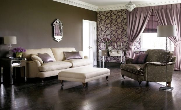 Purple Colour Scheme For A Purple Living Room Ideas Find House To Home Ideas