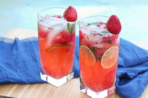 Kokocooks: Strawberry Mojitos
