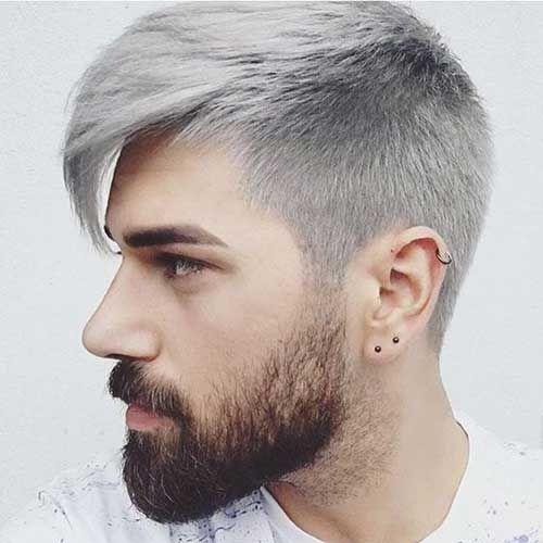 Trend Grau Haar Farbe Am Coolsten Kerle Auf Dem Planeten Manner