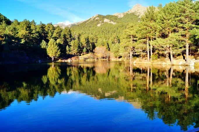 Embalse en el valle de la Barranca.