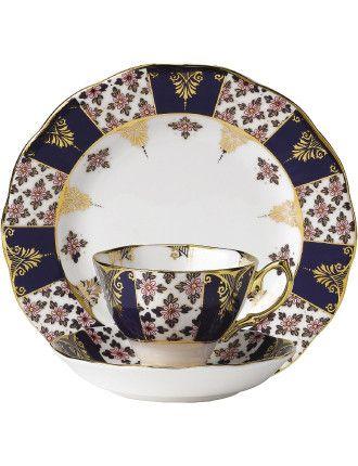 100 Years 1900s Teacup/Saucer/Plate  sc 1 st  Pinterest & Best 63 Royal Albert ideas on Pinterest   Royal albert Royal ...