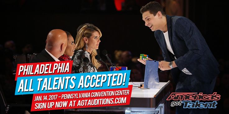 Official America's Got Talent Audition Site 2016-2017 – All the information you need to audition for NBC's America's Got Talent