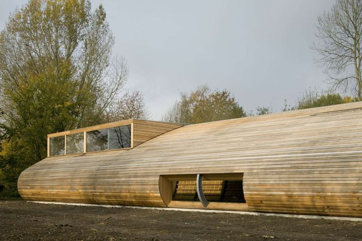 Sheep Stable Almere_70f Architecture  timber cladding (Western Red Cedar), exterior facade