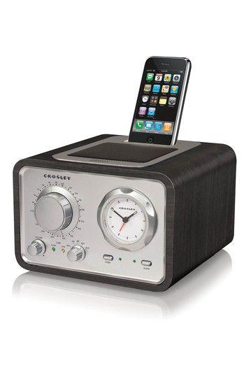new bedside alarm clock radio gadgets gizmos pinterest. Black Bedroom Furniture Sets. Home Design Ideas