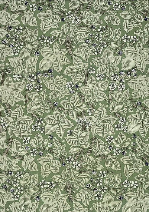 Bramble Design 1879 Print by William Morris