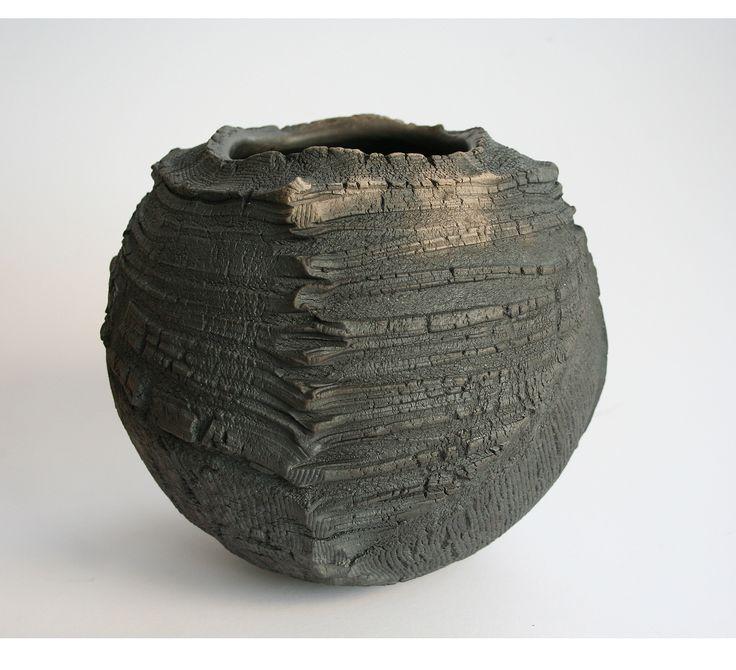 Patricia Shone, 'Erosion bowl, raku fired ceramic, 2014.