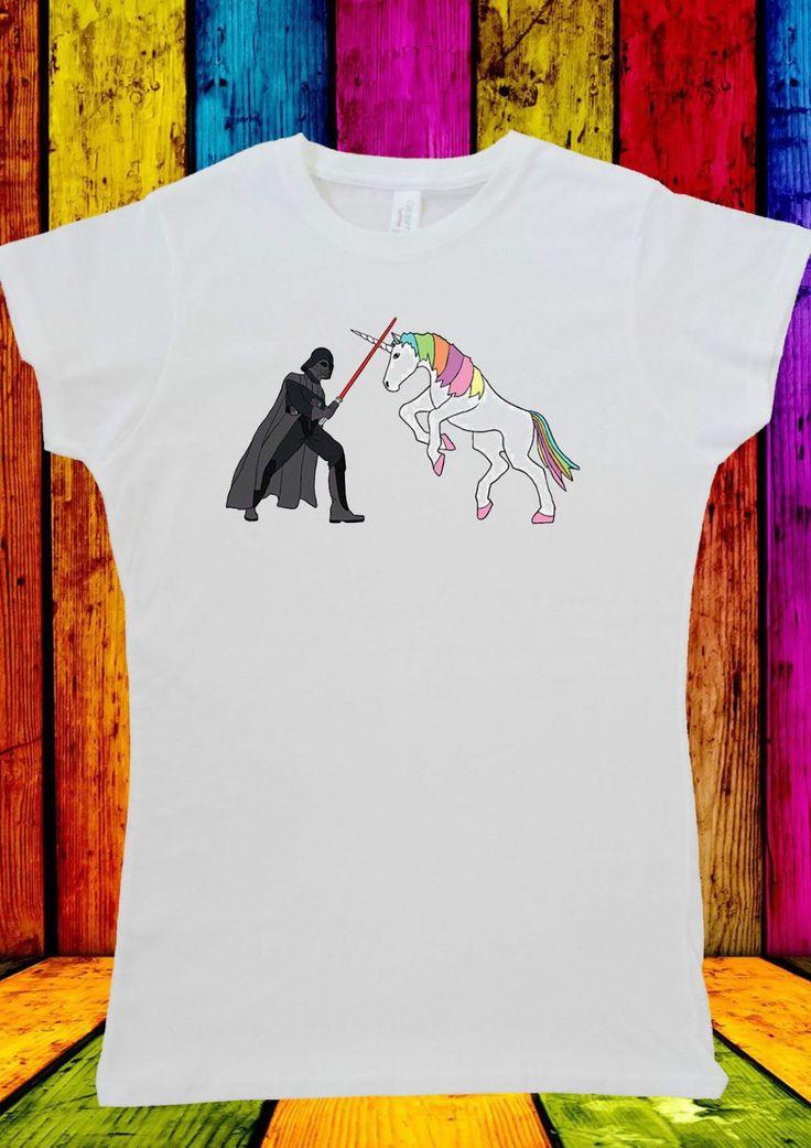 Star Wars Darth Vader Unicorn Funny T-shirt