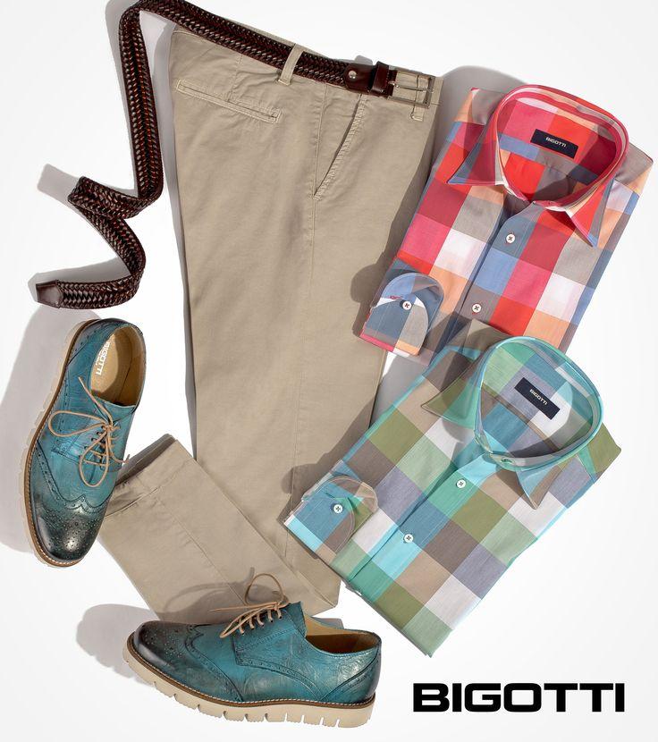 For a #great #harmonious #look #take a #subtle #approach of #mixing and #matching #colours! www.bigotti.ro #Bigottiromania #moda #barbati #culori #asortare #vara #mensfashion #menswear #mensclothing #mensstyle #mixandmatch #followus #ootdmen #ootd #stylingtips #inspiration
