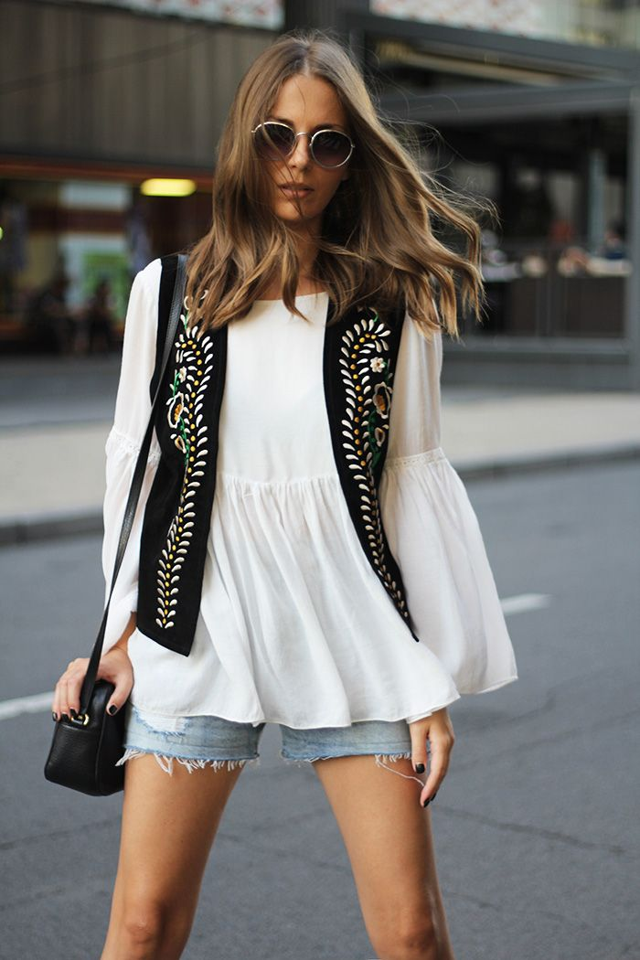 Fashion and style: Embroidered waistcoat