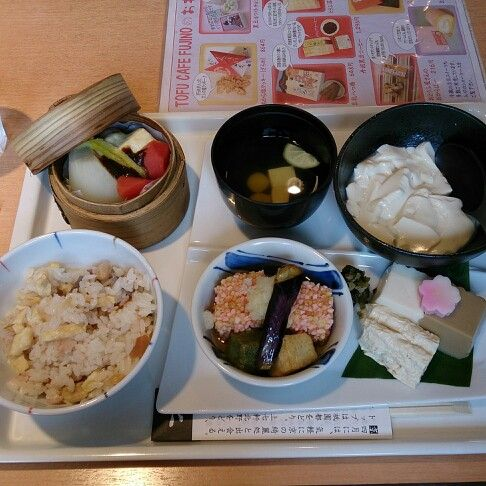 Tofu set meal by Fujino Cafe,