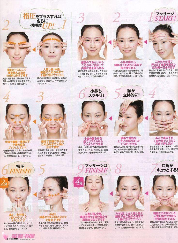 Japanese Facial Massage hip problems website
