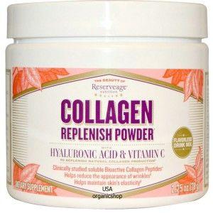 Коллаген ReserveAge Nutrition, Collagen Replenish Powder, Flavorless Drink Mix