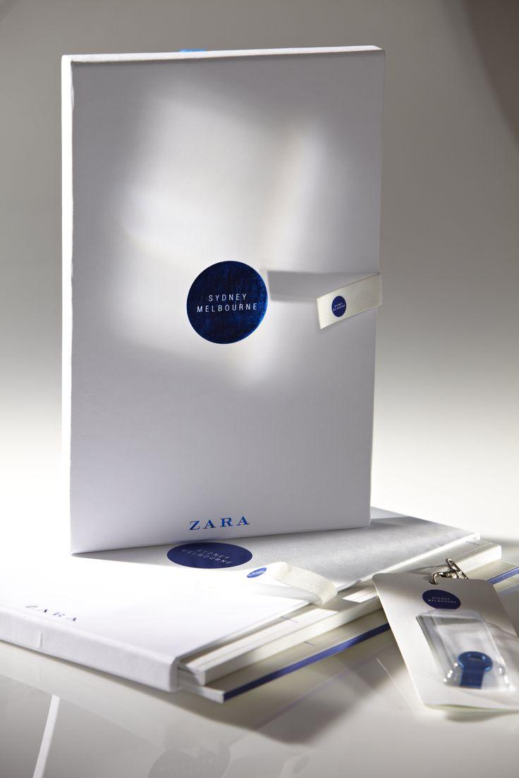 Diseño presentación Zara en Australia.  #design #editorial #idecomunicacion