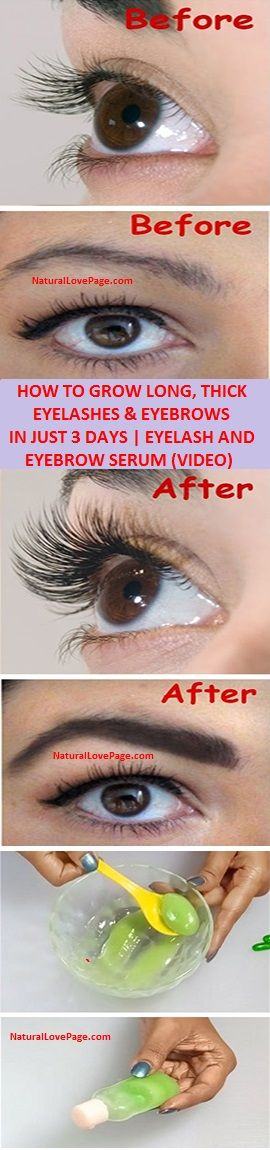how to make your eyebrows grow in 3 days