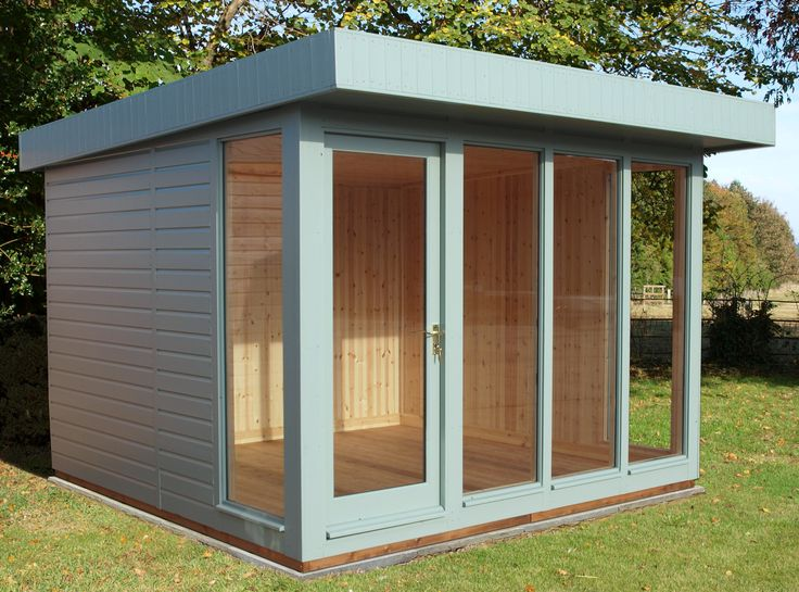 modern Garden Shed Plans | Contemporary Garden Shed | Wooden garden sheds
