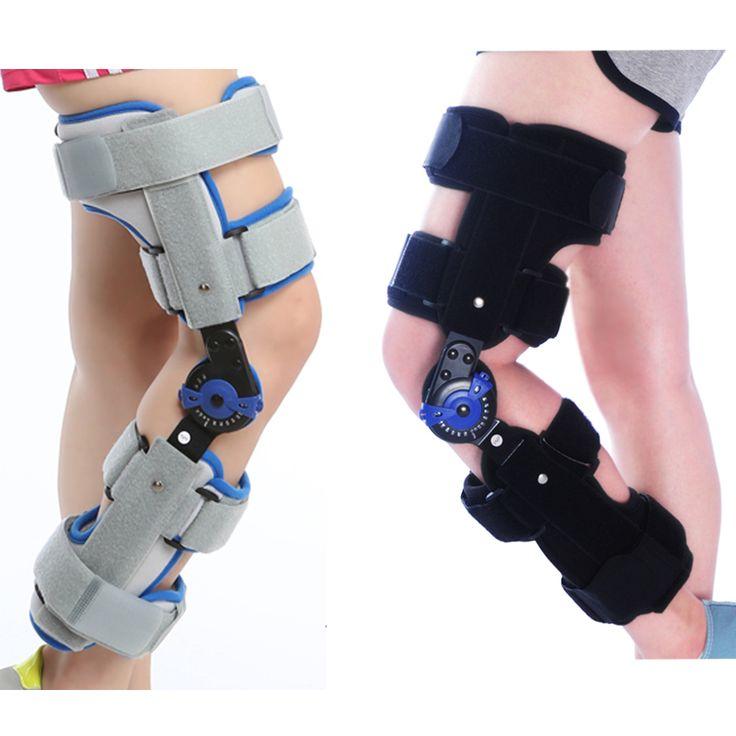 JORZILANO Sports Knee Brace Support Orthopedic Hinged Splint Stabilizer Wrap Sprain Post-Op Hemiplegia Flexion Extension