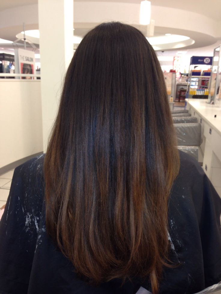 25 Best Ideas About Brown Sombre Hair On Pinterest