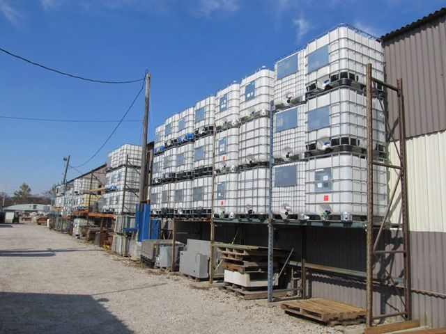 used ibc tote tanks for sale at gotta go surplus salvage