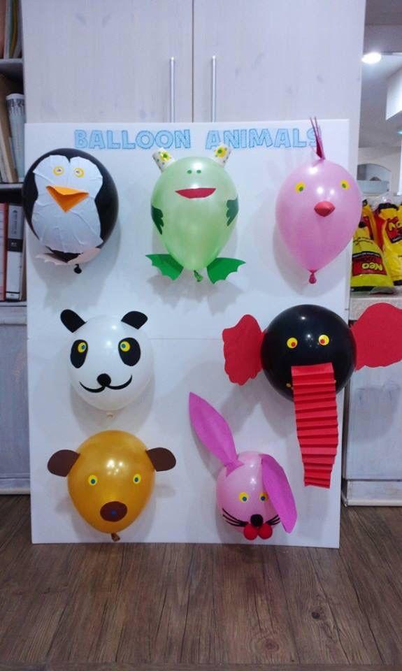 Balondan sevimli hayvanlar