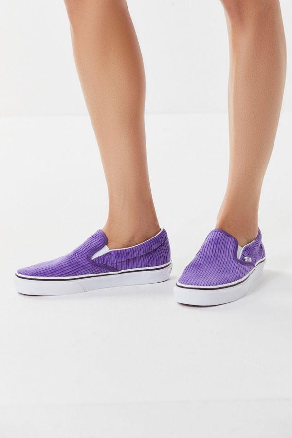 ff50d64219c Vans Corduroy Slip-On (Purple)