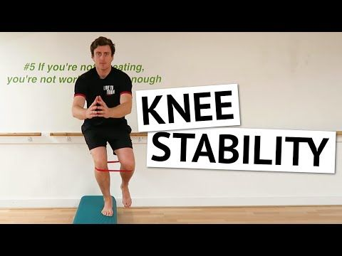 Knee Stability Exercises for Runners [Ep29] - YouTube