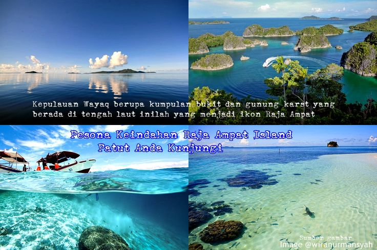 Raja Ampat Islands. Located off the northwest tip of Bird's Head Peninsula on the island of New Guinea, in Indonesia's West Papua province, Raja Ampat