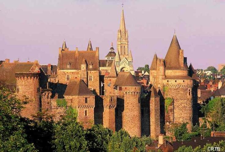 Château de Vitré en Bretagne