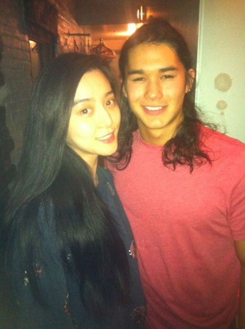 Booboo Stewart and Bingbing Fan #my babies # xmen cast